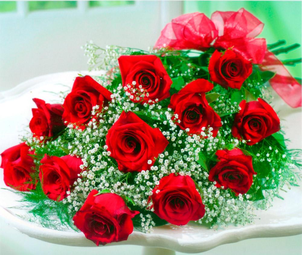 ramos de rosas 6 - Imagenes De Ramos De Rosas